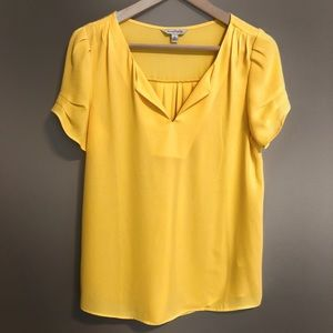 charming Charlie short sleeve blouse size small